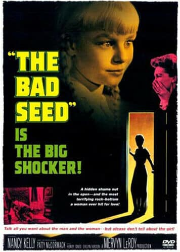 The Bad Seed (1956) movie poster