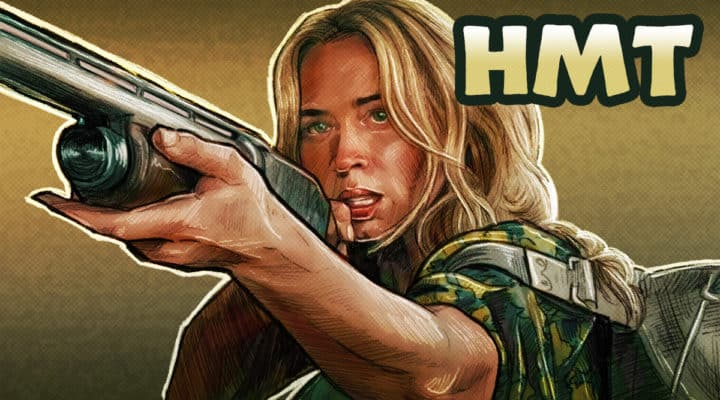 A Quiet Place Part 2 Illustration by Horror Movie Talk Podcast