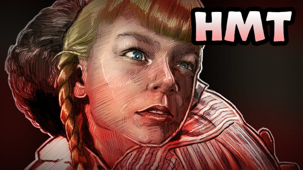The Bad Seed Illustration by Horror Movie Talk Podcast
