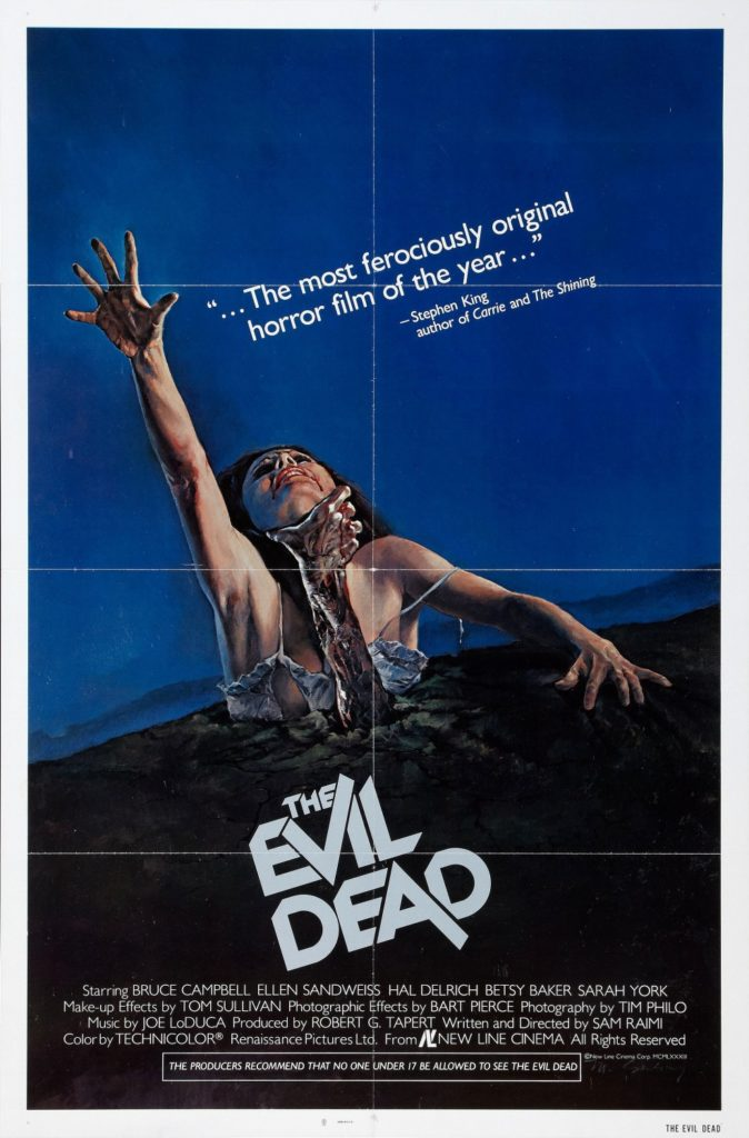 Hi David, This is the Poster to The Evil Dead