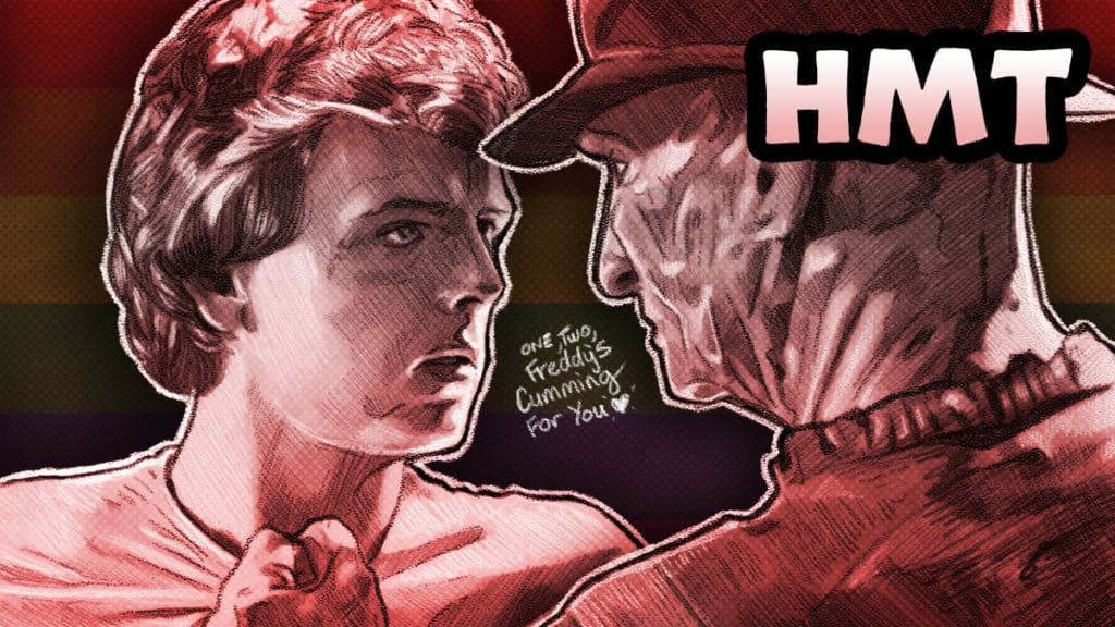 Nightmare on Elm Street 2: Freddy's Revenge Featured Artwork by Dustin Goebel