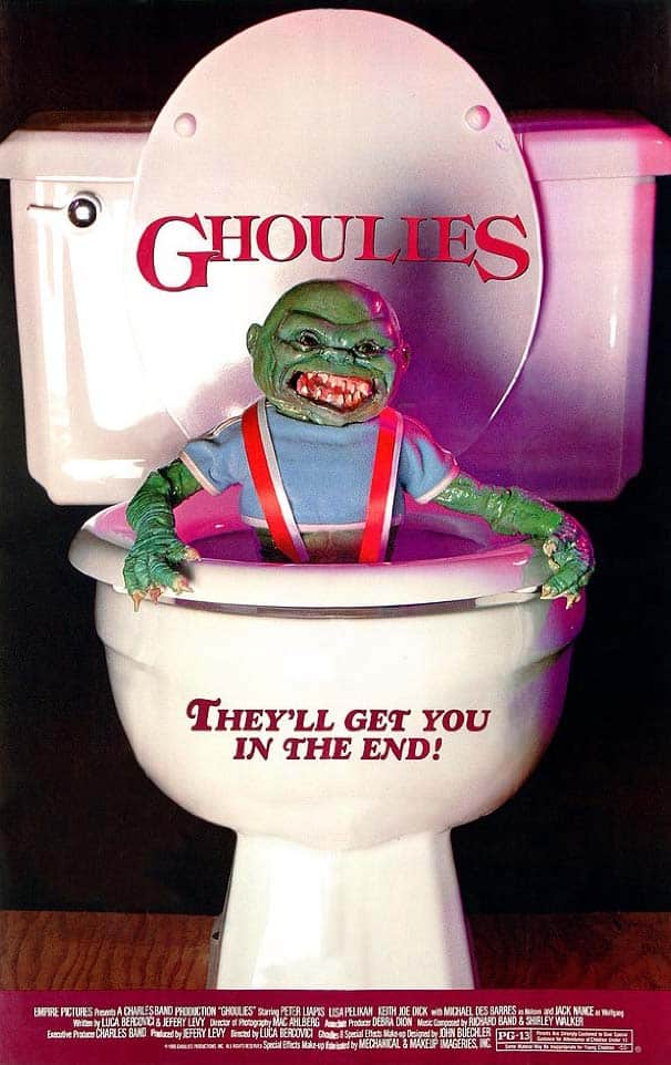 Ghoulies movie poster