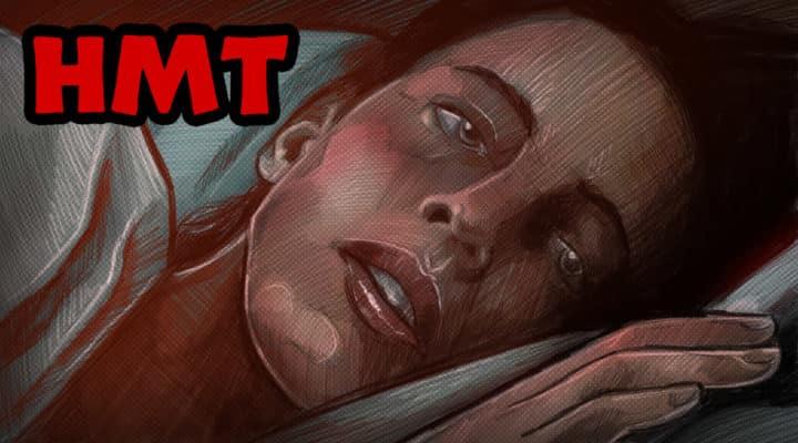 The Night House Illustration Horror Movie Talk Podcast