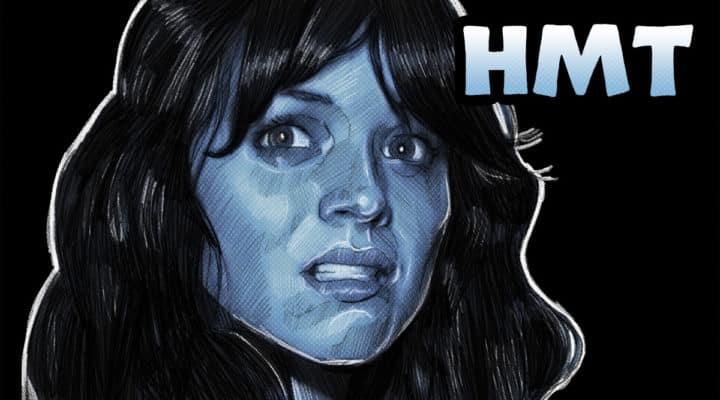 Paranormal Activity 3 Illustration Horror Movie Talk Podcast