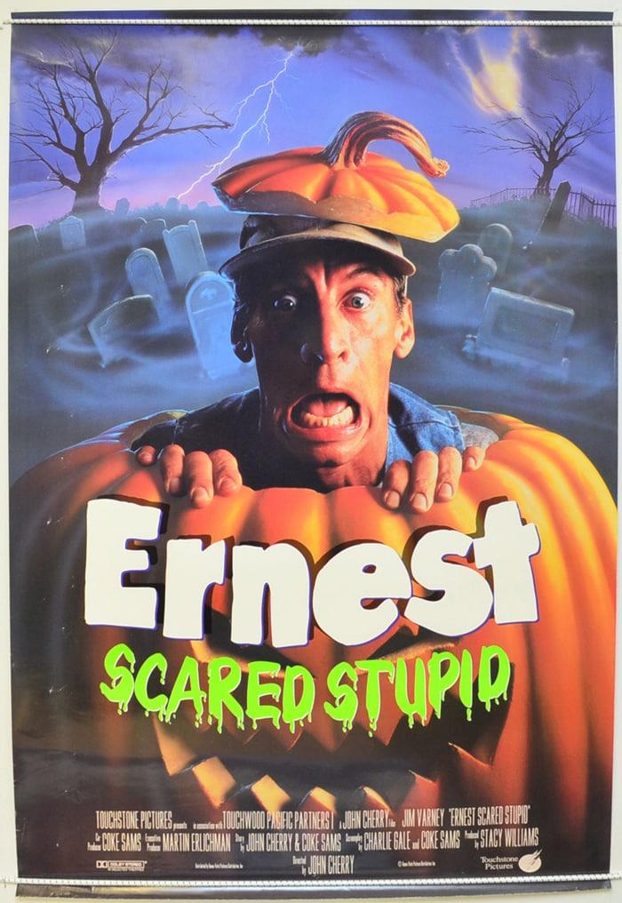 ernest scared stupid movie poster